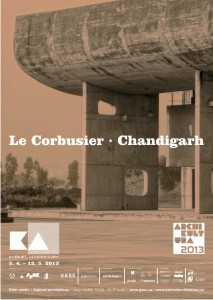 Le Corbusier - Chandigarh / abinet architektury
